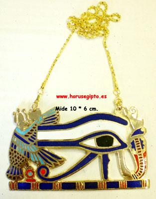 Ojo de Horus esmaltado 10 cm