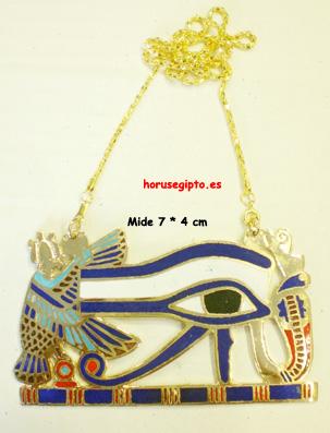 Ojo de Horus esmaltado 7 cm