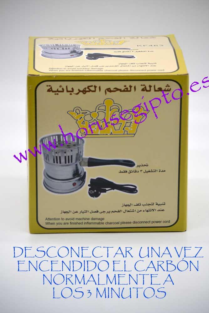 Hornillo eléctrico encendedor carbón