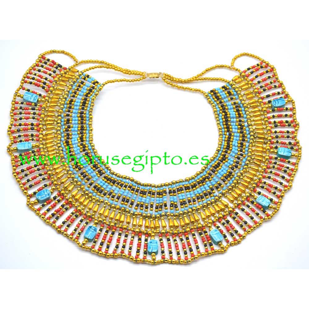 Collar Cleopatra pectoral 4/40
