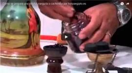 Video cómo preparar una shisha o cachimba